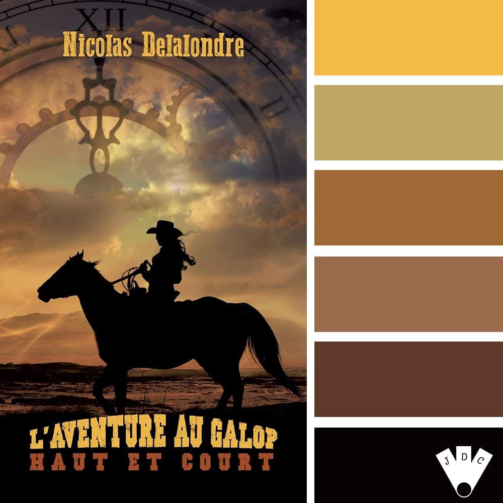 L'aventure au galop, T2 : Haut et court / Nicolas Delalondre