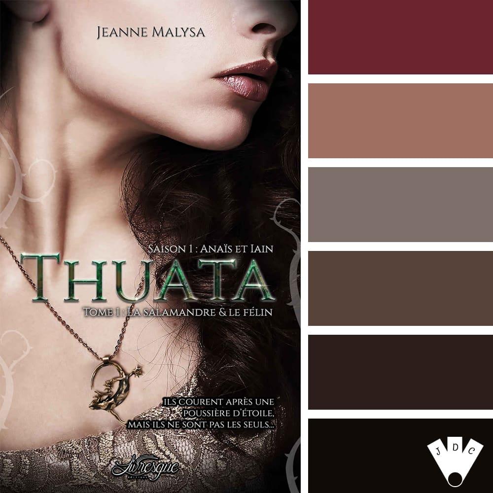 Thuata, saison 1 : Anaïs & Iain T1: La Salamandre & le Félin / Jeanne Malysa