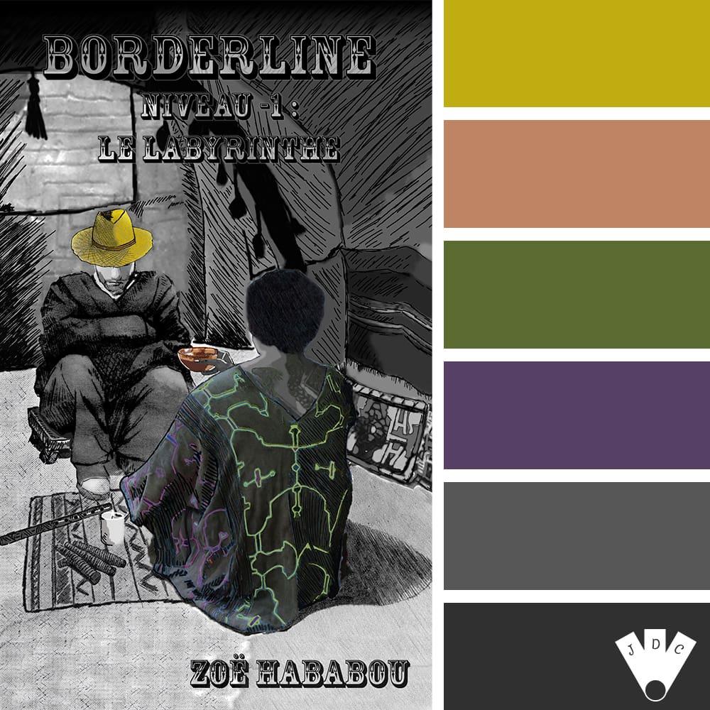 Borderline: Niveau -1 : Le labyrinthe / Zoë Hababou