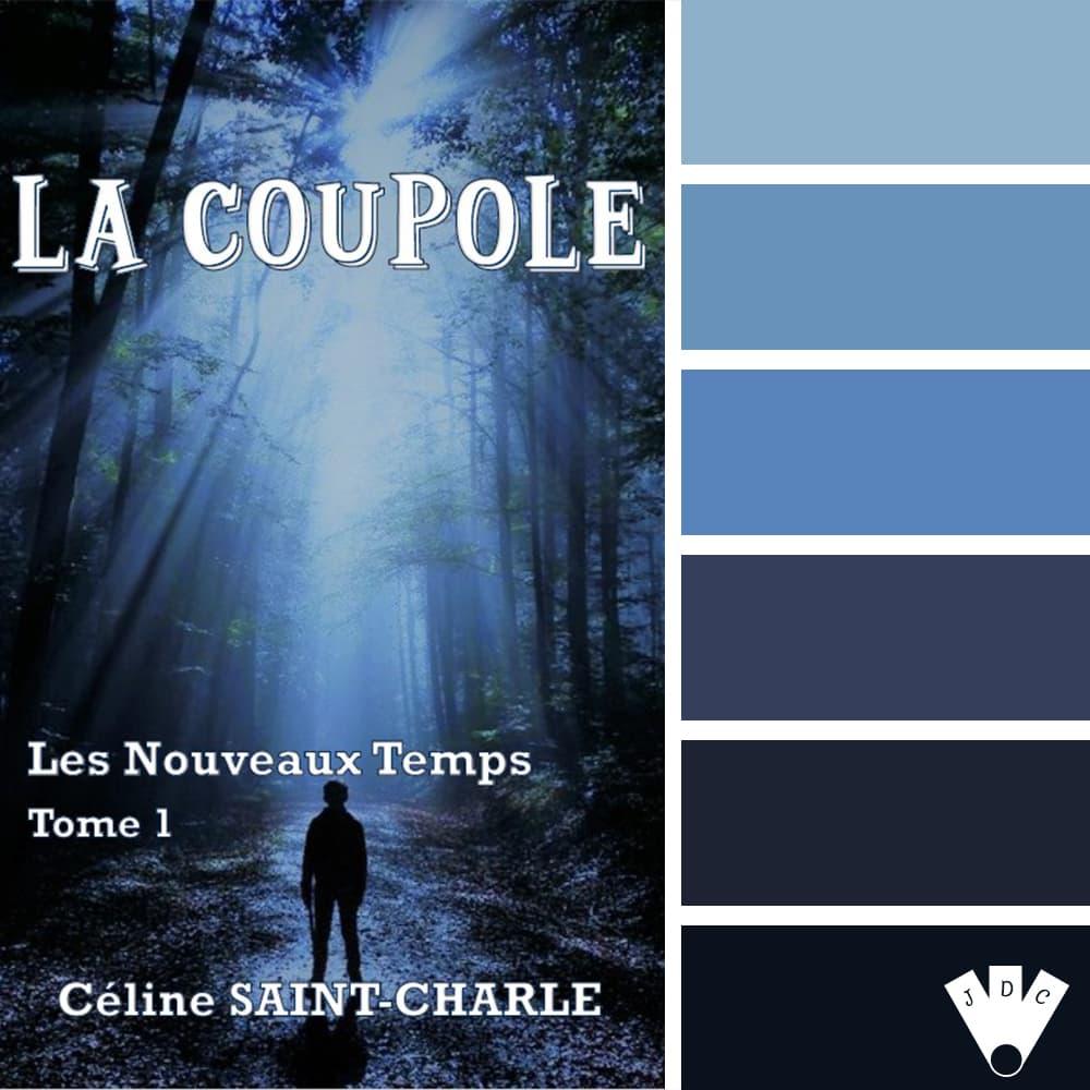 """Color palette du livre """"La coupole"""" de Céline Saint Charles"""