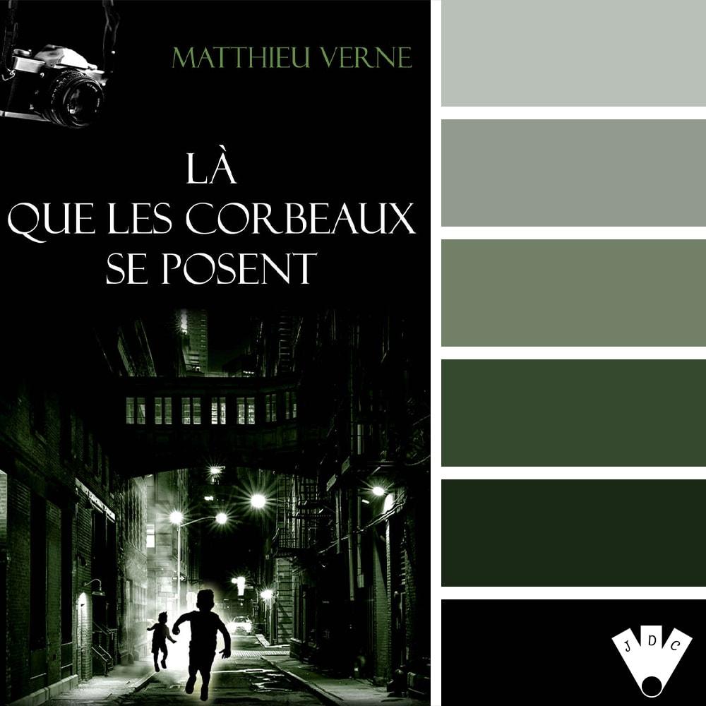 Là que les corbeaux se posent / Mathieu Verne