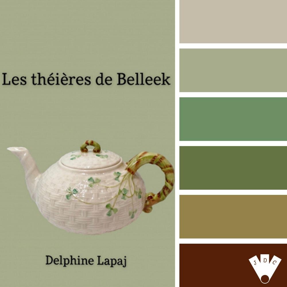 Les Théières de Belleek / Delphine Lapaj
