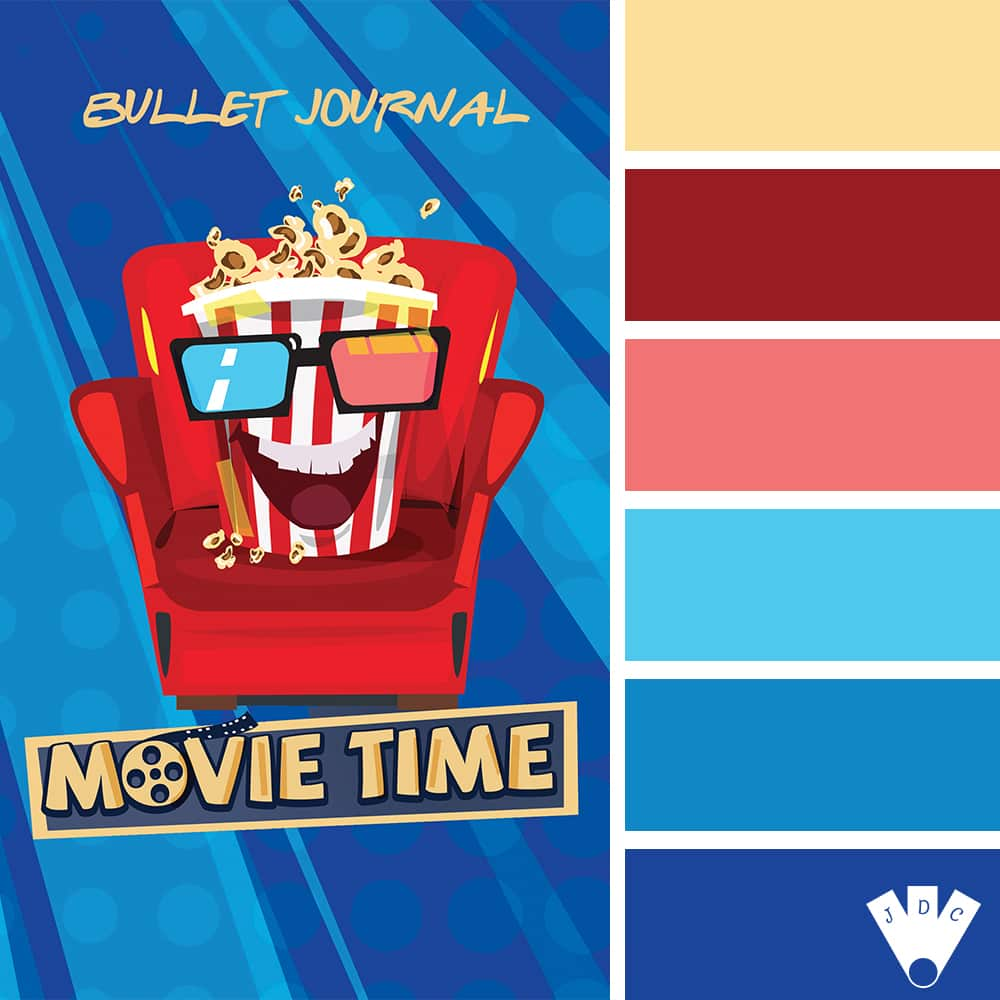 Movie Time : Bullet Journal (Popcorn Edition) / Tom Nessy