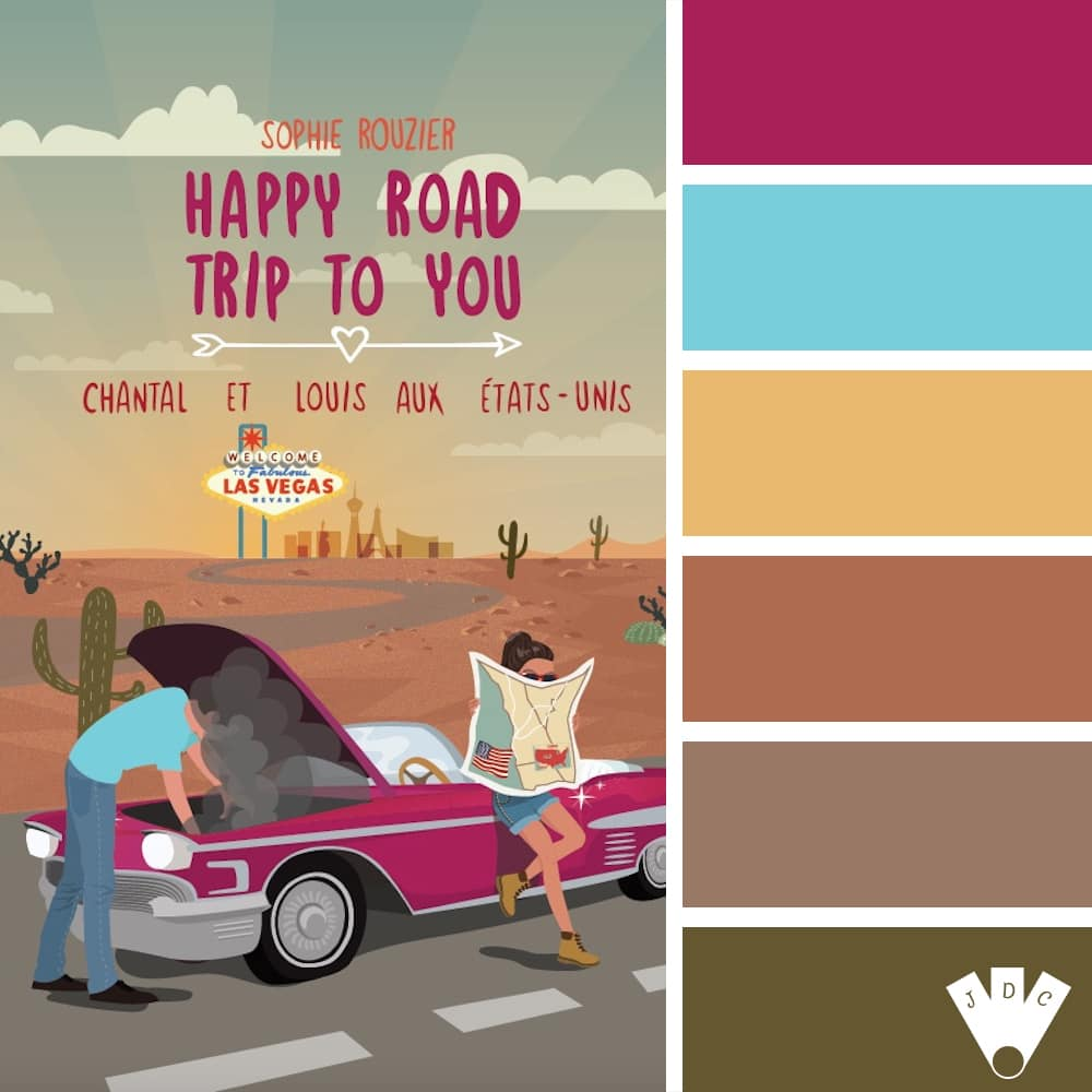 Happy road trip to you : Chantal et Louis aux États-Unis / Sophie Rouzier