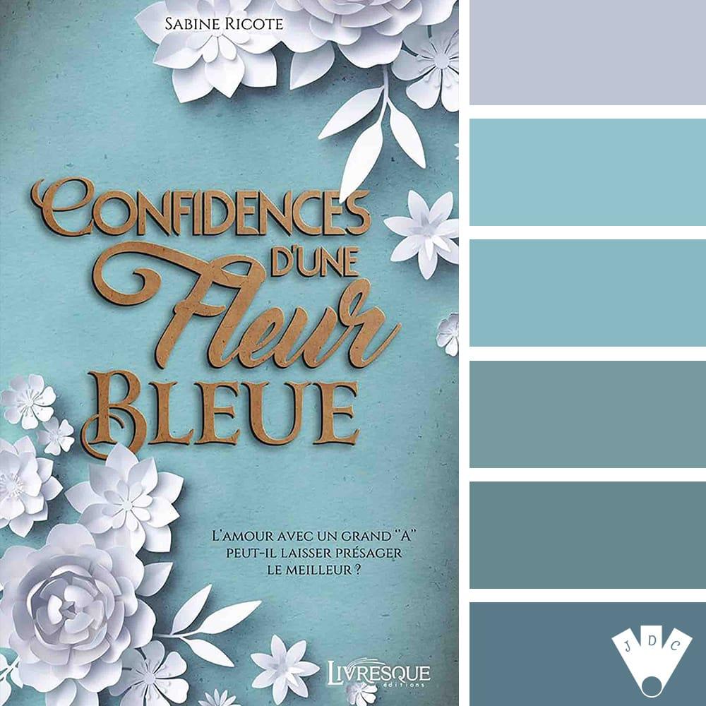 Confidences d'une fleur bleue / Sabine Ricote