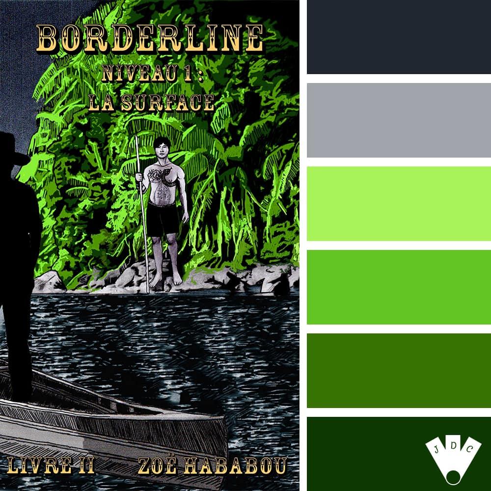 Borderline : Niveau 1 : La surface – livret 2 / Zoë Hababou