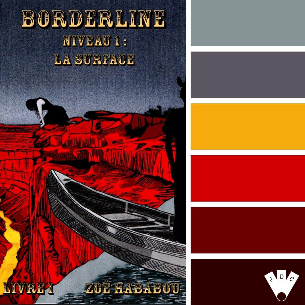 Borderline : Niveau 1 : La surface – livret 1 / Zoë Hababou