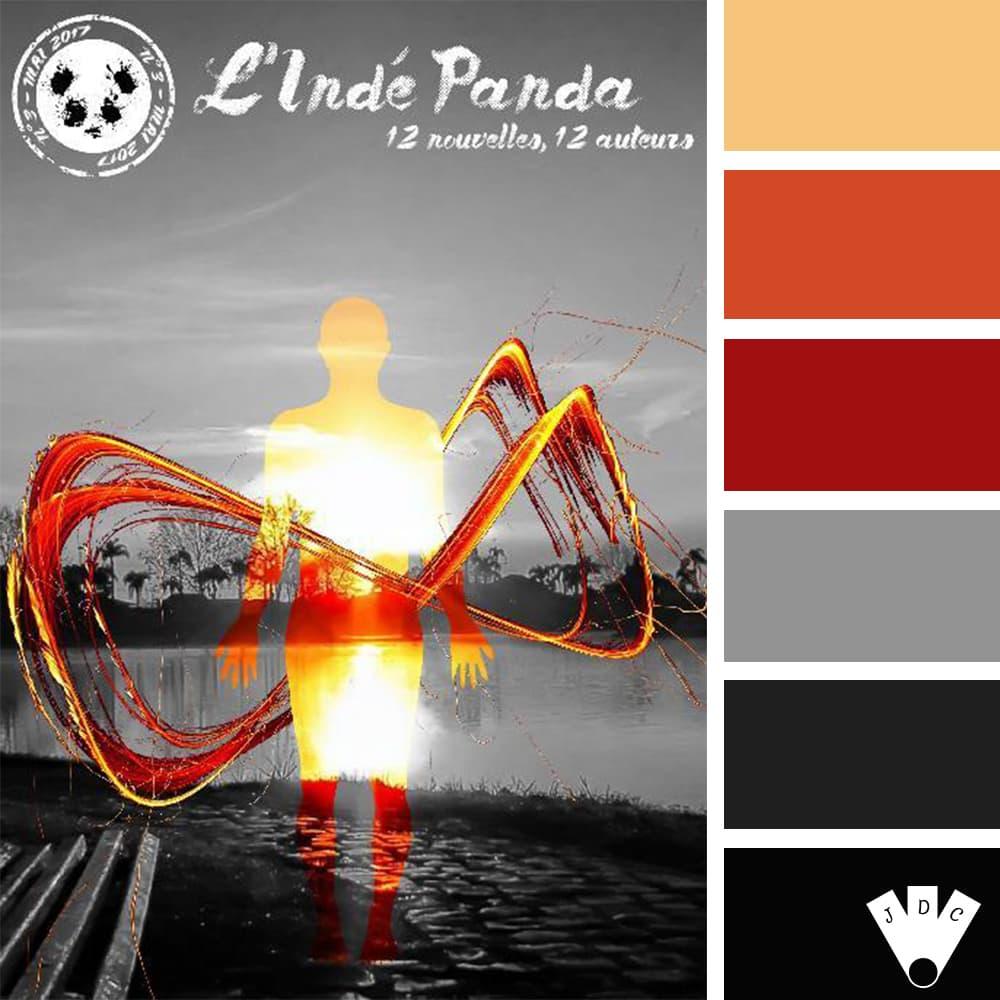 Color palette du magazine l'indé panda n°2