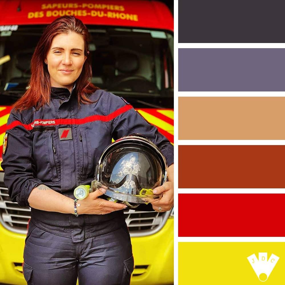 Color palette à partir d'une photo de Terroirs engagés